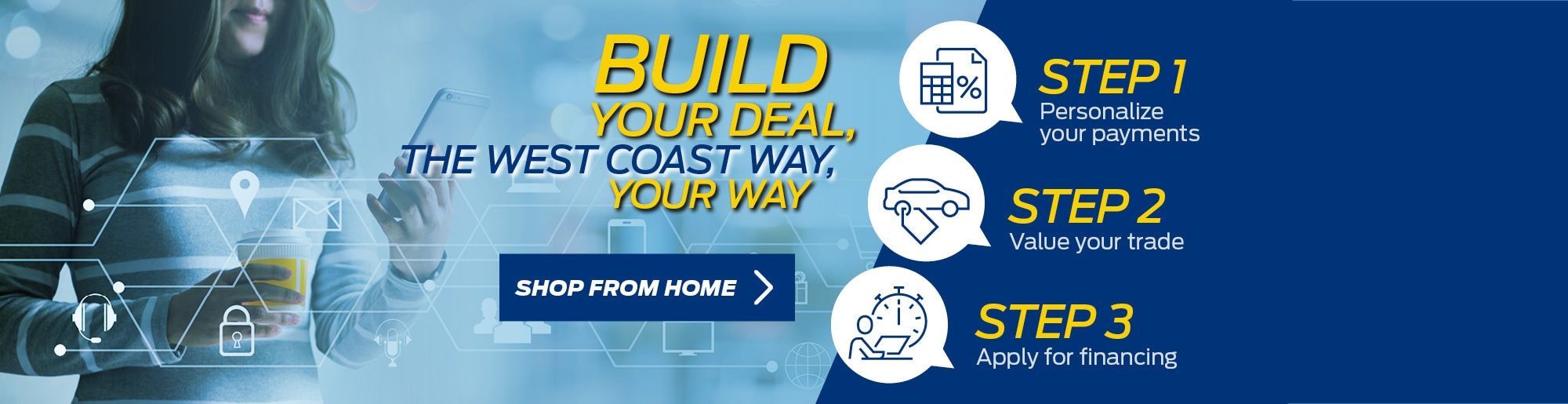 Build your deal banner