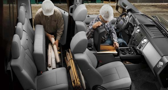 2015 Ford F-350 Super Duty Interior Seating