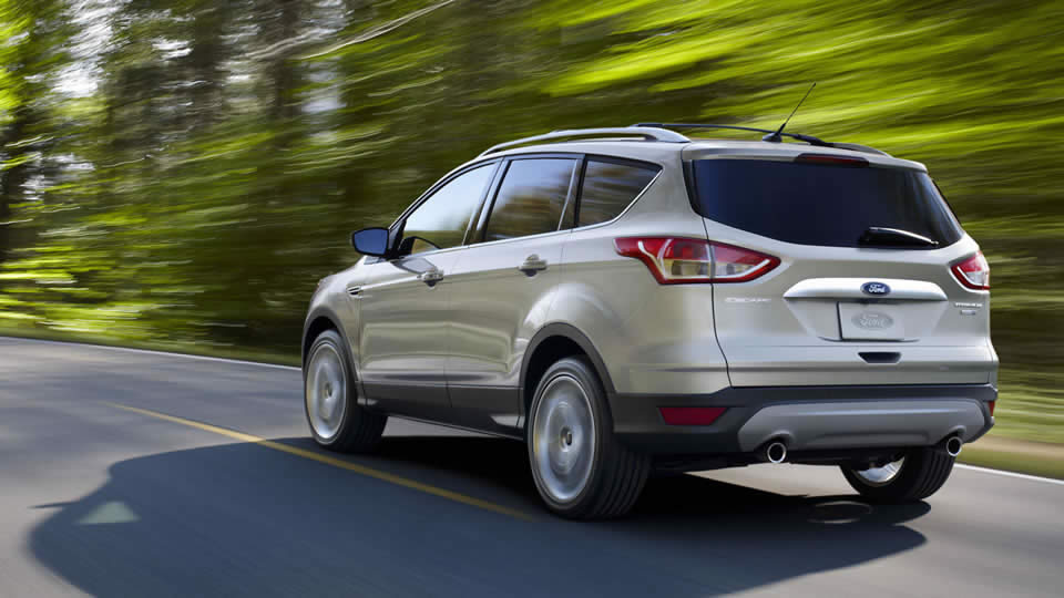 2015 Ford Escape Exterior Rear View