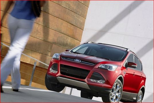 2013 ford escape exterior red