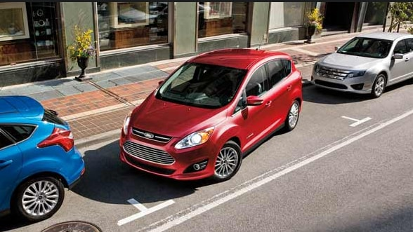 2015 Ford C-Max Exteior Birds Eye View