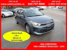 2018 Kia Rio5 LX+ Only 85 KM | Heated Seats and Steering Wheel