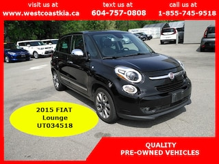 2015 Fiat 500L Lounge | Leather | Navigation | Sunroof Hatchback