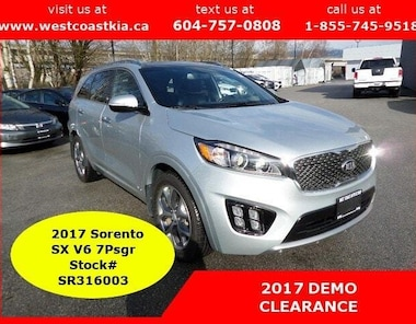 2017 Kia Sorento Manager Driven DEMO - AWD V6 SX SUV