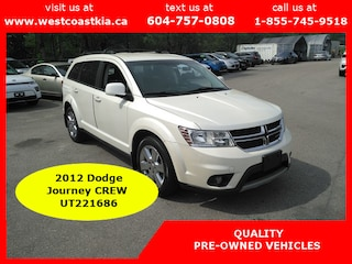 2012 Dodge Journey Crew 7 Passenger SUV