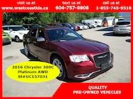 2016 Chrysler 300C Platinum AWD Sedan