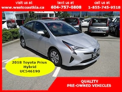 2018 Toyota Prius Touring   Top Model   Most Options   Leather   Nav