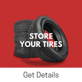 Store Your Tires at West Coast Lincoln for just $129.95 per Season