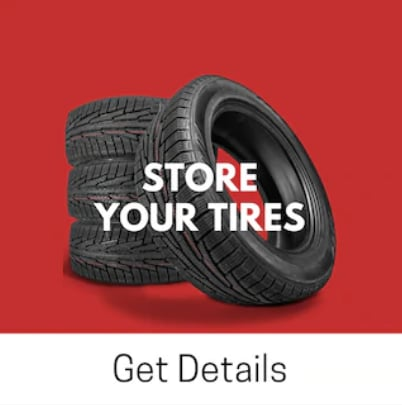 Store your Tires at West Coast Mazda for just $129.95 per season!