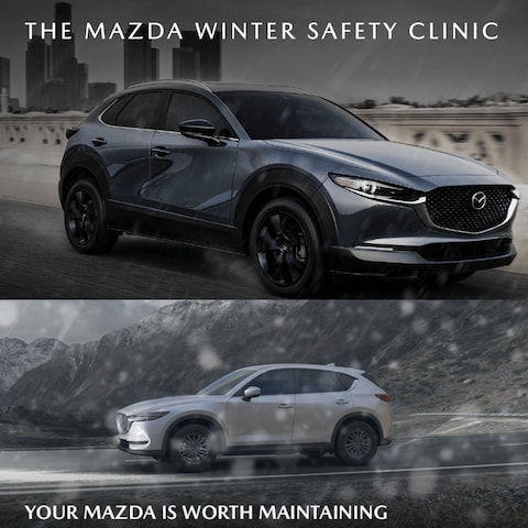 THE MAZDA WINTER SAFETY CLINIC PACKAGE