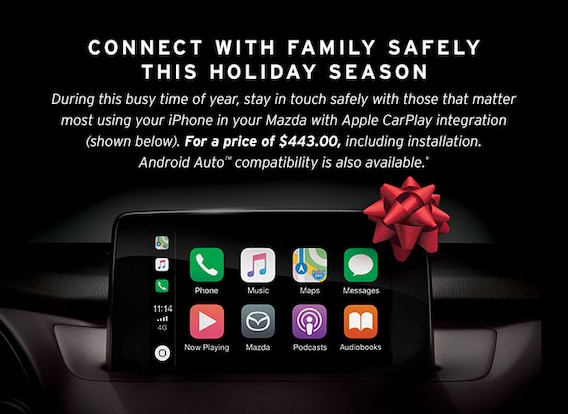 Apple CarPlay and Android Auto | West Coast Mazda