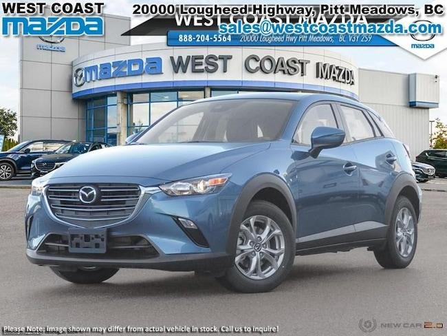 2019 Mazda CX-3 GS- ETERNAL BLUE- AWD- LUXURY PKG SUV