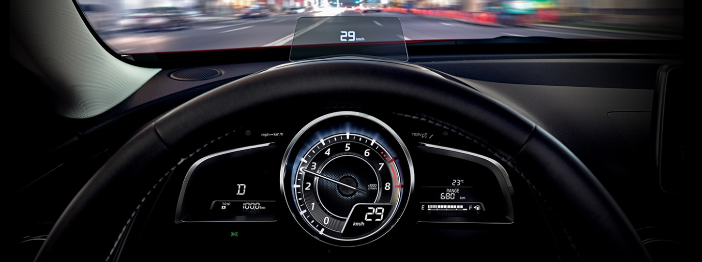 2017 Mazda CX-3 Interior Speedometer