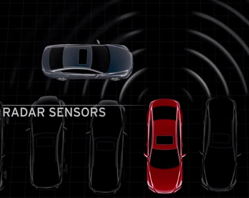 2014 i-ACTIVSENSE Rear Cross Traffic Alert