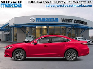 2018 Mazda Mazda6 GS- SOUL RED CRYSTAL- AUTO- LEATHER- SUNROOF Sedan