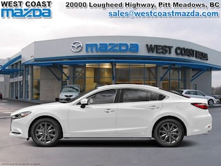 2018 Mazda Mazda6 GS-L- SNOWFLAKE WHITE-AUTO-SUNROOF- LEATHER Sedan