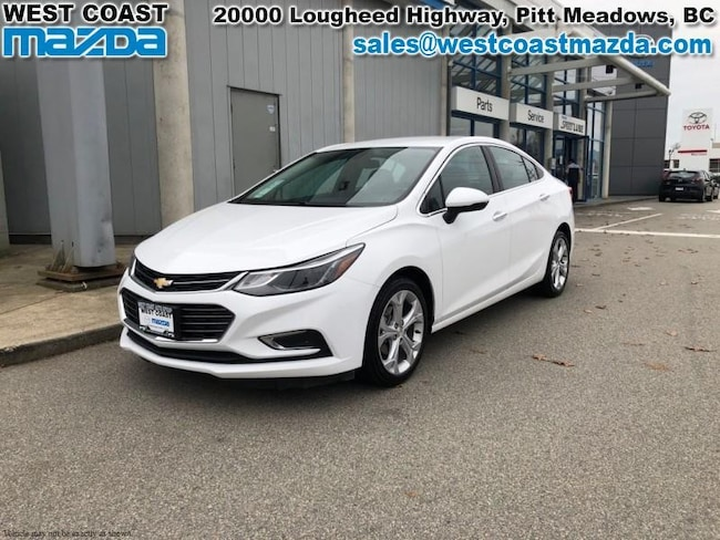 2017 Chevrolet Cruze PREMIER- AUTO- LEATHER Sedan