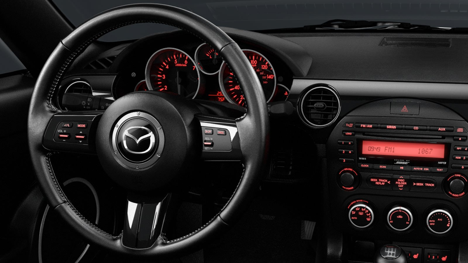 2015 Mazda MX-5 Interior Dashboard