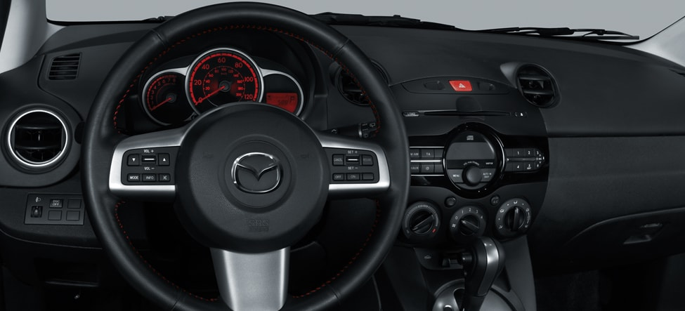 2014 Mazda2 Interior Dashboard