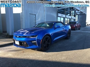 2017 Chevrolet Camaro 2SS- MANUAL- LEATHER- CONVERTIBLE- LOW KM!!
