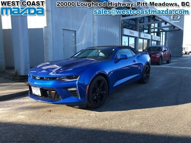 2017 Chevrolet Camaro 2SS- MANUAL- LEATHER- CONVERTIBLE- LOW KM!! Convertible
