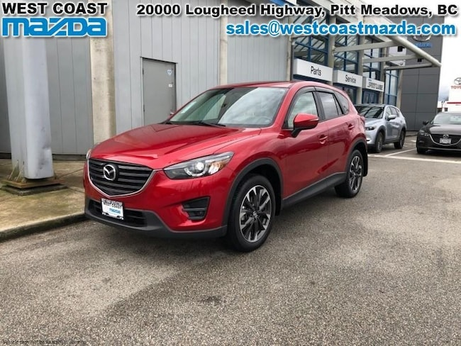 2016 Mazda CX-5 GT- TECH- AWD- WHITE LEATHER- SUNROOF- FULL LOAD SUV