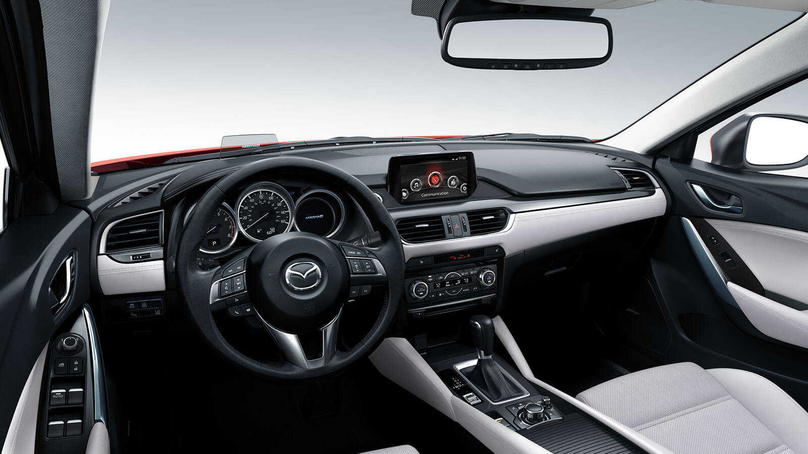 2016 Mazda6 Interior Dashboard