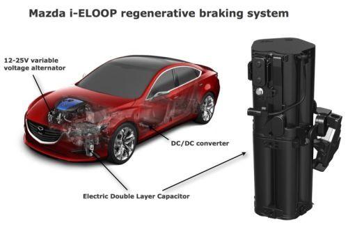 i-Eloop Mazda - SKYACTIV - Brake Energy Regeneration System