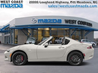 2017 Mazda MX-5 RF GS- CRYSTAL WHITE PEARL- MANUAL- SPORT PKG Coupe