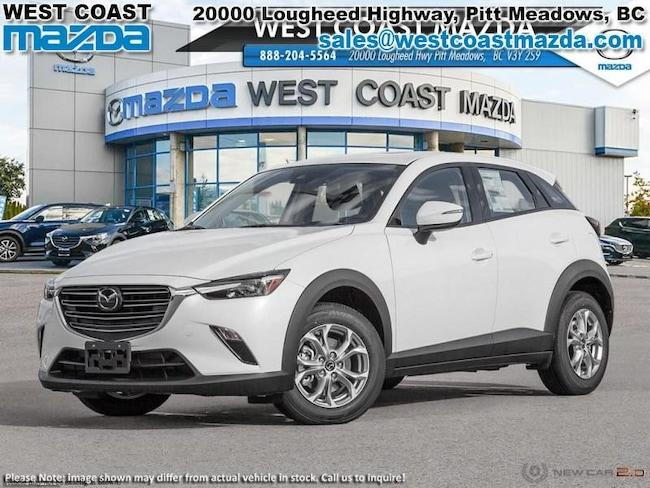 2019 Mazda CX-3 GS- SNOWFLAKE WHITE- AWD- LUXURY PKG SUV