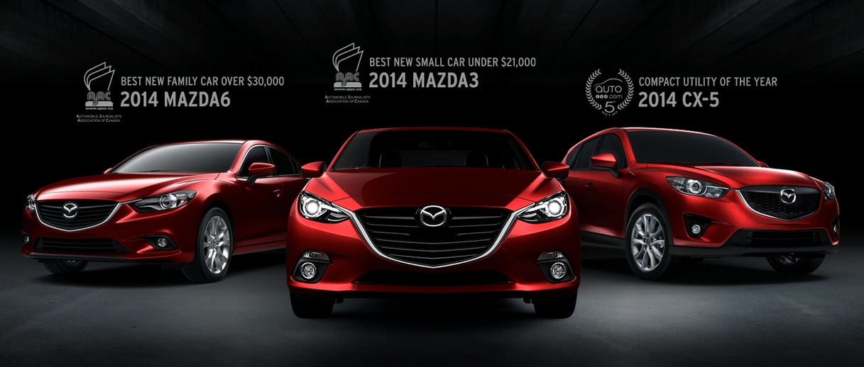 2014 Mazda Award Vehicle Image