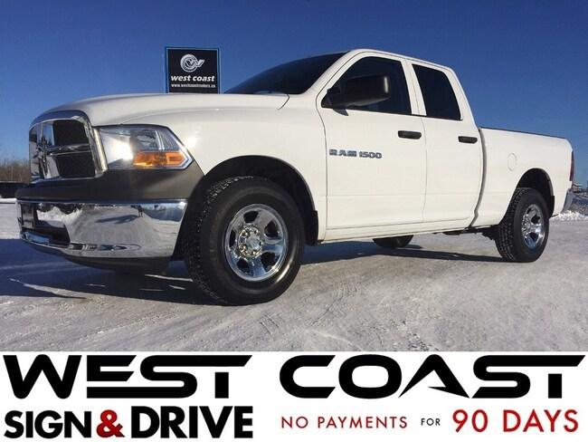 2012 Dodge Ram 1500 4X4 Quad Cab *Manitoba Truck* Satellite Radio* Truck Quad Cab