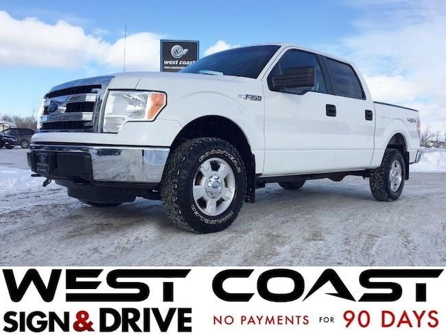 2013 Ford F-150 XLT 4X4 Supercrew *5.0L* SYNC* ALLSERVICE RECORDS* Truck