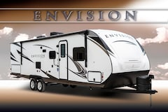2019 GULF STREAM ENVISION 290RL ULTIMATE COUPLES TRAILER W/SLIDE SLEEPS 8+