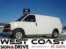2017 GMC Savana 2500 Cargo Van *Low Km`s* Finance or Lease* Minivan