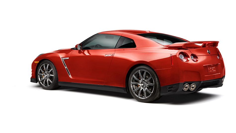 2015 Nissan GT-R Exterior Rear End