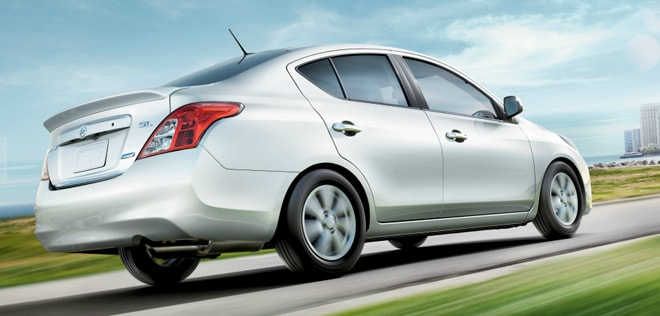 2014 Nissan Versa Sedan Exterior Rear End