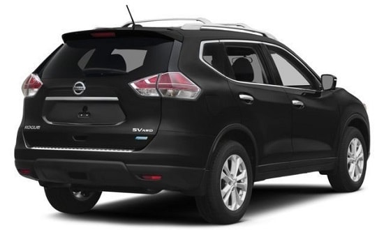 2014 Nissan Rogue SV Exterior Front