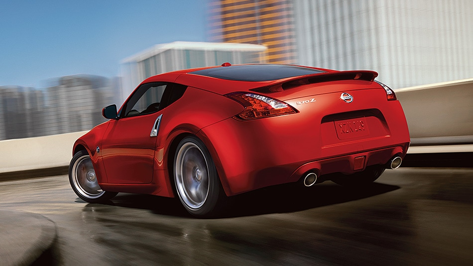 2017 Nissan 370Z Coupe Exterior Rear End