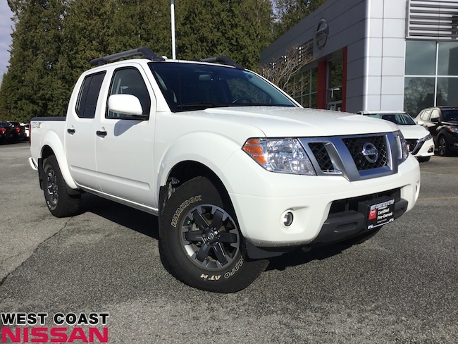 2019 Nissan Frontier Pro-4X - off road edition, leather, bluetooth/Navi Crew Cab