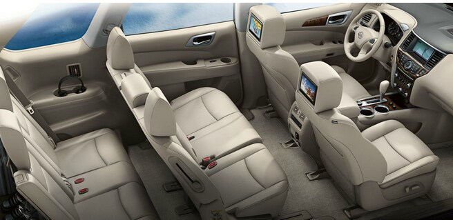 2013 Nissan Pathfinder Interior Seating
