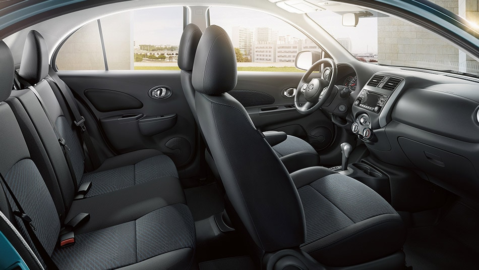 2015 Nissan Micra Interior Seating