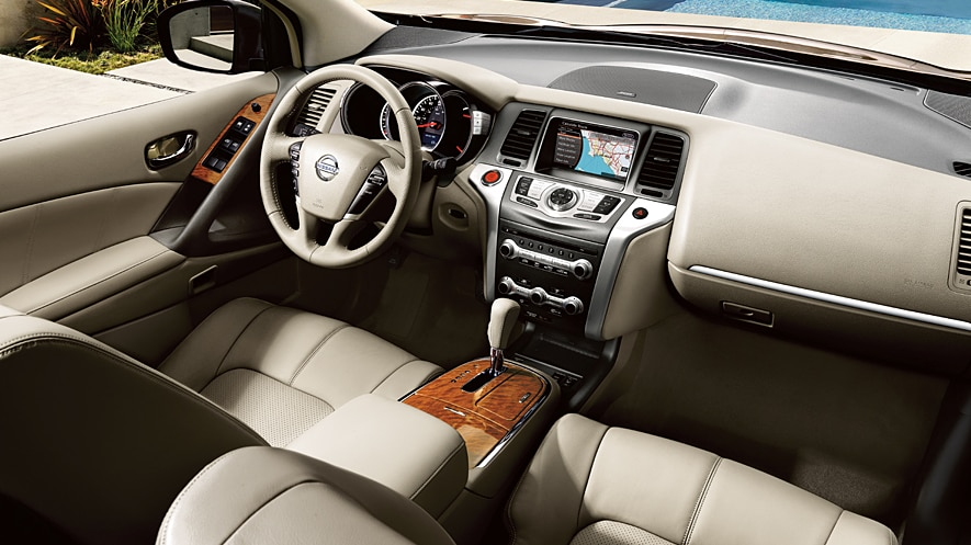 2014 Nissan Murano Platinum in Beige Leather Interior