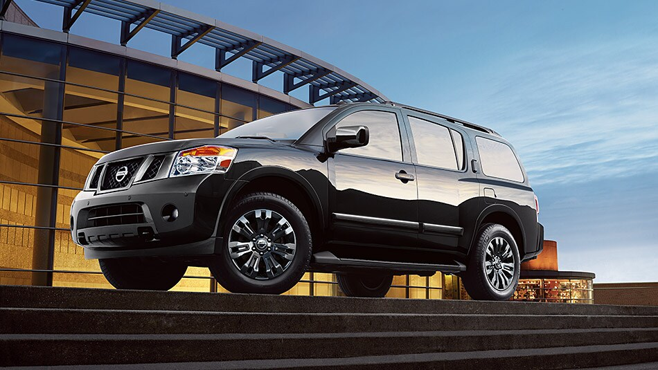 2015 Nissan Armada Exterior Side View