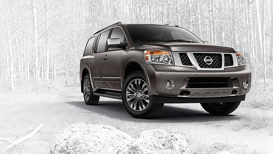 2015 Nissan Armada Exterior Front End