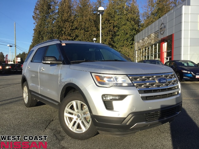 2018 Ford Explorer XLT - no accidents and carproof certified SUV