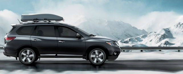 2013 Nissan Pathfinder Exterior Side View