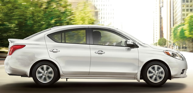 2014 Nissan Versa Sedan Exterior Side View