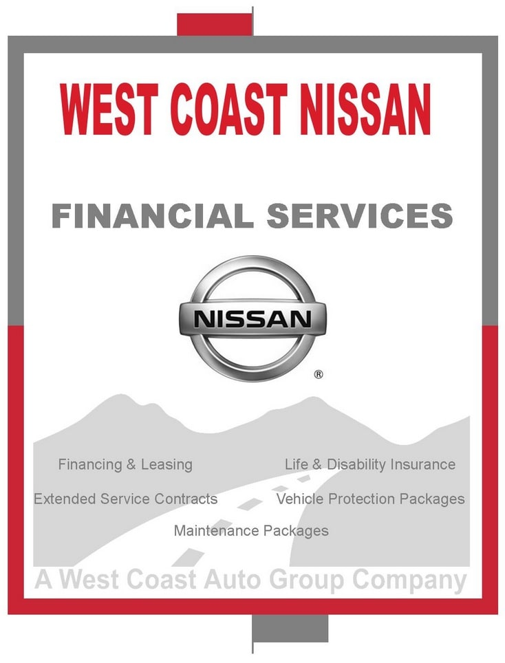 west coast nissan financial services