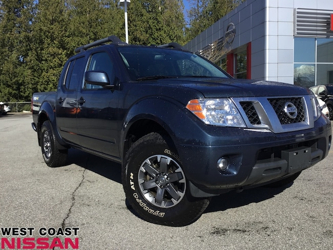 2019 Nissan Frontier PRO-4X - local one owner with no accidents Crew Cab
